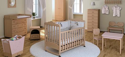 выбираем кроватку в детскую
